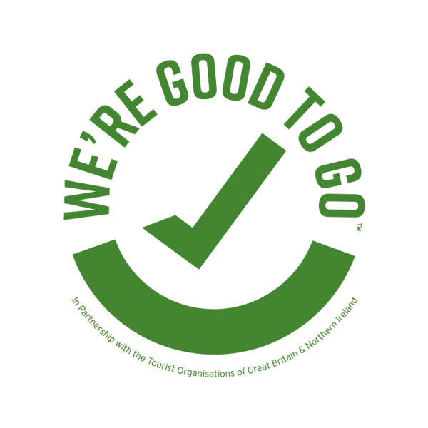 We're Good to Go Sticker