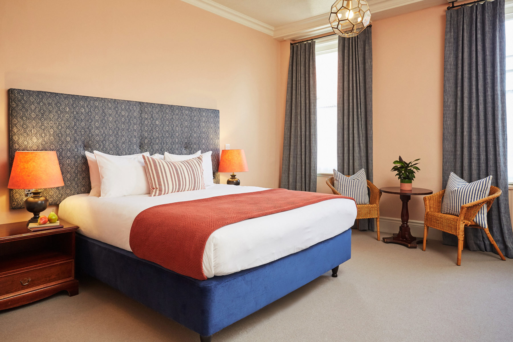 Bedrooms at the Green Dragon Hotel, Hereford