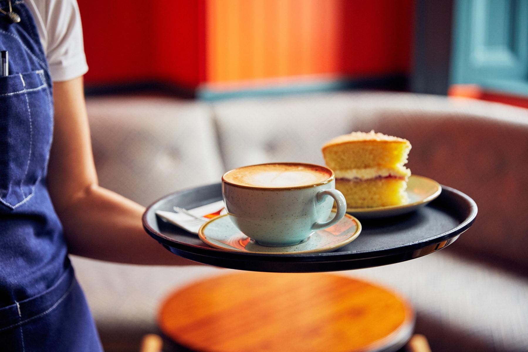Fresh coffee and homemade cakes